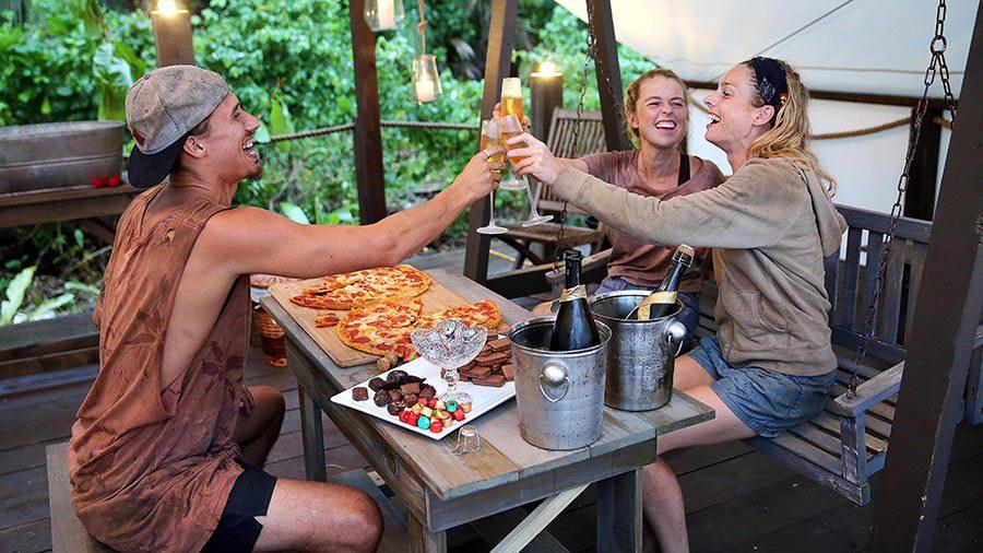Australian Survivor Season 2 champagne alliance is formed