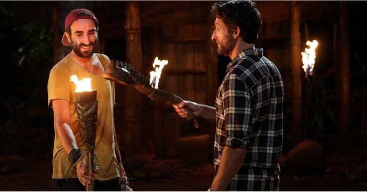 Australian Survivor Season 1 Nick's torch is snuffed by Jonathan Lapaglia