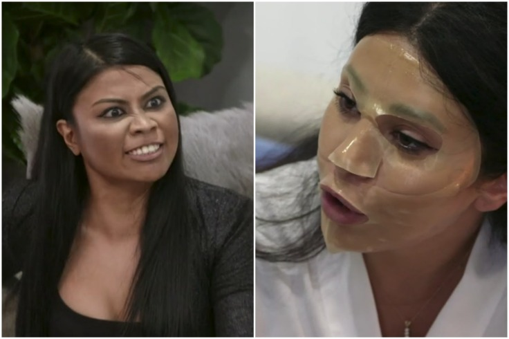 MAFS Cyrell and Martha Having Argument While Martha Wears Beauty Face Mask