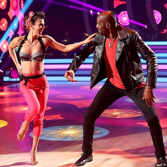 Curtley Ambrose Dancing on Dancing With The Stars