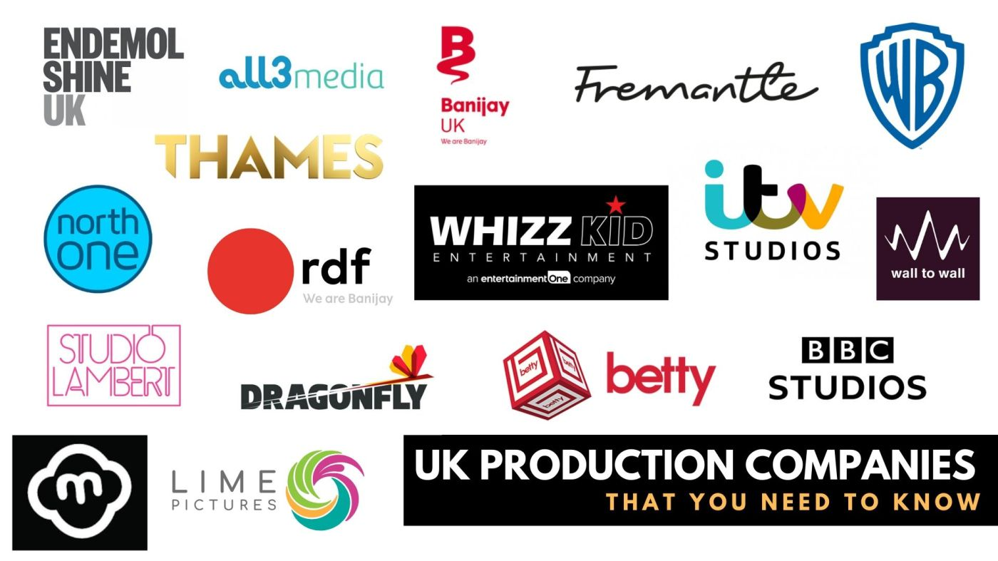 TV production companies logos