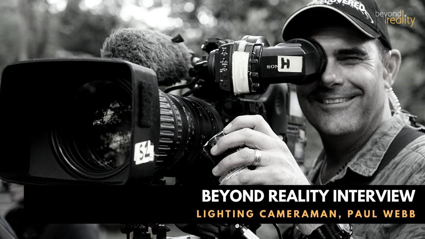 Cameraman with camera